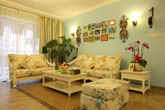 和谐搭配色彩 2014最新客厅家具颜色搭配方案